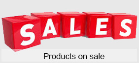 Products on sale