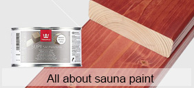 All about sauna paint