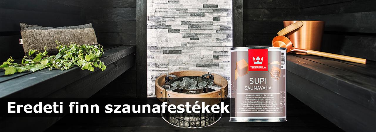 Szauna Color - Eredeti finn szauna festékek